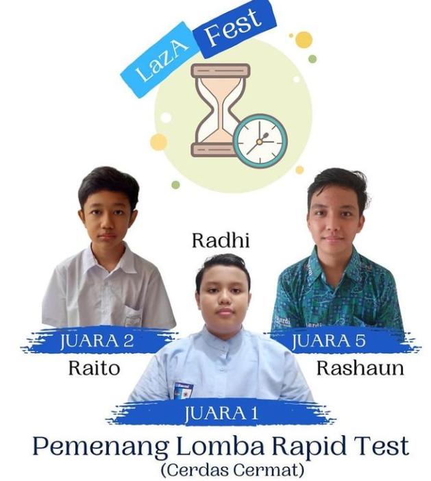 Juara Lomba Rapid Test