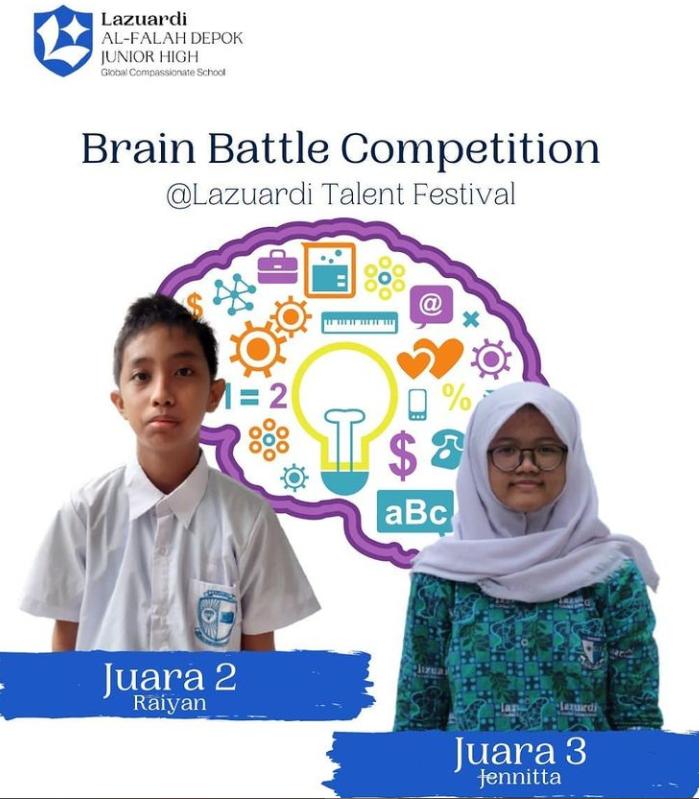 Juara II Lomba Brain Battle